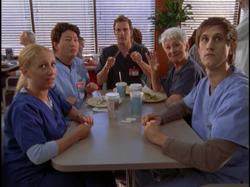 5x2 interns at table