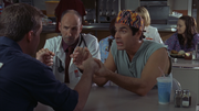 8x11 Janitor Todd Zeltzer hold hands 2