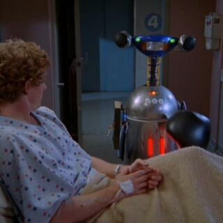 The Bad News Robot delivers bad news to a patient