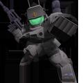Unit br mass production guncannon white dingo team
