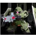 Unit cr gunner zaku phantom