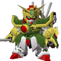 Unit as dragon gundam super mode