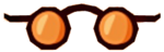 OrangeRoundGlasses