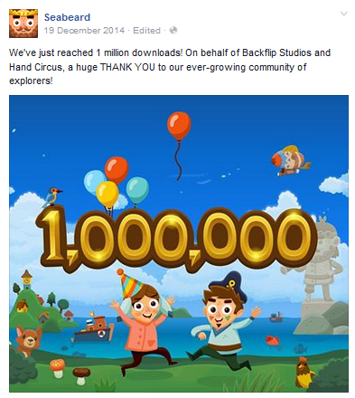 File:FBMessageSeabeard-We'veReached1MillionDownloadsThankYou.png