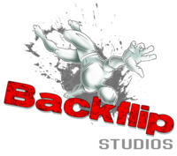 Backflip Studios Logo Old