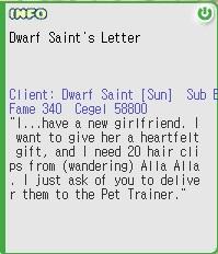 Dwarft saint