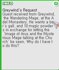 Greywind's Request