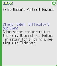 Fairy Queen's Portrait Request