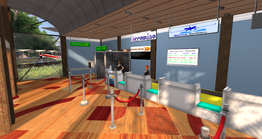 East River Airport, check-in counters (04-14)