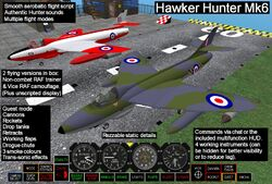 Hawker Hunter (Ash Studios) Promo Art