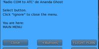 Radio COM to ATC