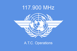 117.900 MHz Group Logo