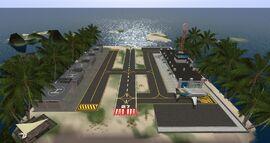 Seychelles Isles Airport, looking west (01-15)