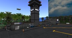 Forkbeard International Airport Terminal, looking SW (01-15)