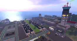 Claremont & Blake Sea Airports, looking SE (10.13)