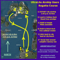 Lily Airstrip Airship Regatta Details