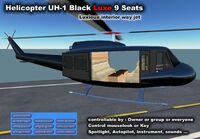 Bell UH-1 Black Luxe (Apolon)
