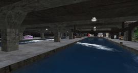 Brentwaters Field Docks, looking SE (01-14)