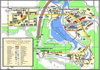 Official 2014 map of Meisterbastler-Kreis (MBK)