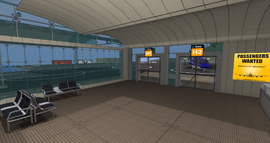 East River Int Airport, Heliport Gates (08-14)