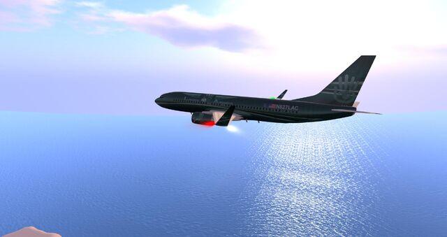 File:Linden Airways inflight at dawn.jpg