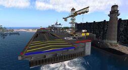Slayton Naval Air Base, looking west (02-11) -2-