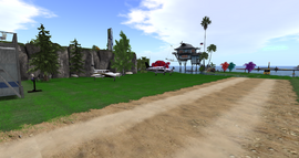 Paradise Dreamers Airfield, looking NE (10-14)