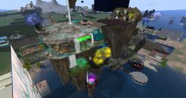 Enchanted Falls Airstrip, looking NE (10-15)