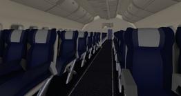 DC-10-30 - faux passenger section (EG Aircraft)