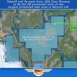 Cass flight map