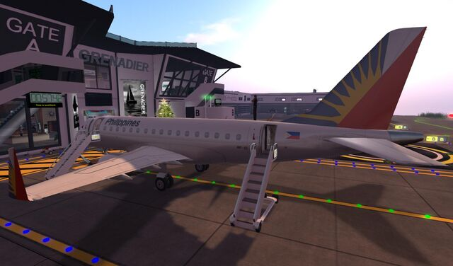 File:Philippine Airlines at GATE of home base SLGR Grenadier 07 001.jpg