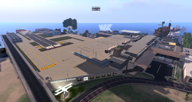 Desdemona Airfield, looking SE (08-14)