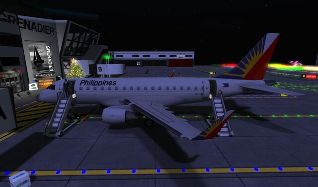 File:Philippine Airlines at GATE of home base SLGR Grenadier 02 001.jpg