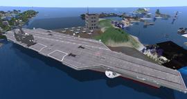 =SAS= Airfield Jorgie, looking SW (09-15)