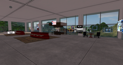 Unity Airport Quigley Annex Terminal, looking NW (04-15)