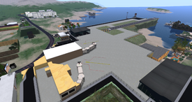 Desdemona Airfield, looking NE (04-14)