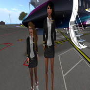 Steph und Babsi - White Star Airfield-02
