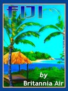 Fiji Travel Poster