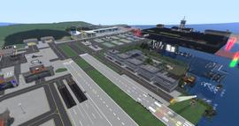 Aleksandr Airport, looking SW (06-14)