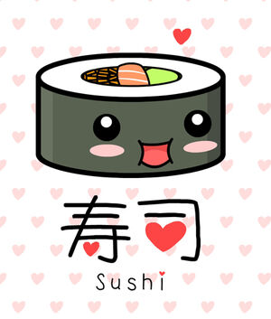 Kawaii Sushi by The 8th Sin