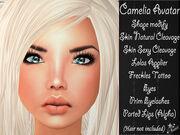 Camelia avatar ad