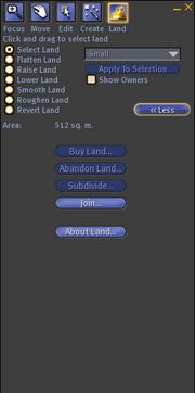 Land-editor original