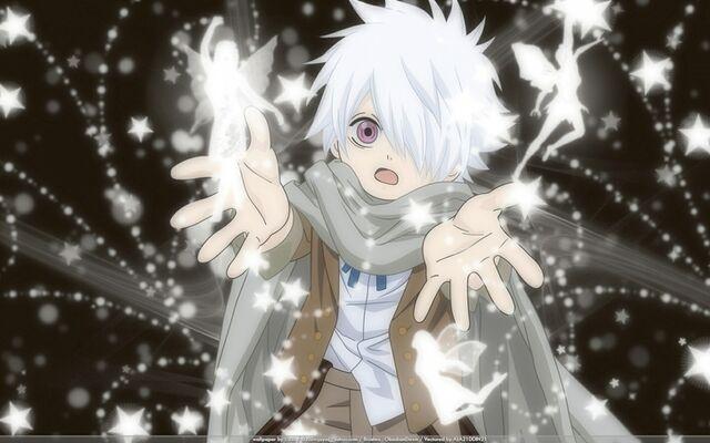 File:Fairies anime anime boys scarf white hair purple eyes tegami bachi lag seeing 1440x900 wallpaper www.wallpaperfo.com 42.jpg