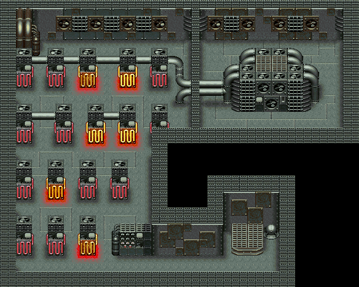 Heating Chamber Map