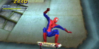 Tony Hawk Pro Skater 2 - Spiderman!
