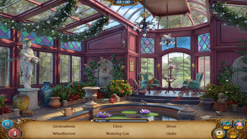 Flower Hall in txt mode