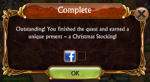 Christmas Update Special Quests Complete