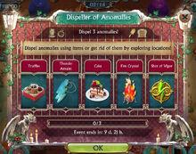 Dispeller of Anomalies Challenge
