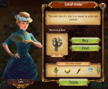 Trading Lady