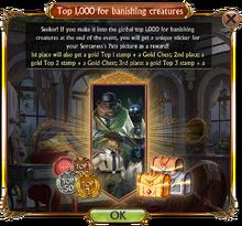 Top 1000 Monster Banishing